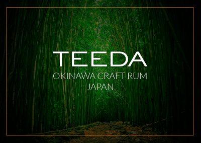 Teeda Aged Japanese Rum