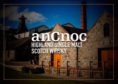 anCnoc highland single malt scotch whisky