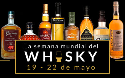 ¡Celebra con Hisúmer el día mundial del whisky o mejor aún la semana!