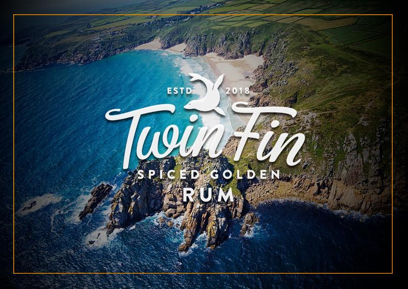 Twin Fin Spiced Golden Rum